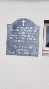 Frank Dolan Plaque