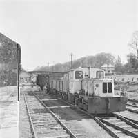 Banagher Goods Train at Ferbane Station
