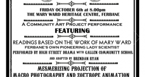 "Creative Ireland Community Art Project  ""Ferbane's Amazing World of Wonder"""
